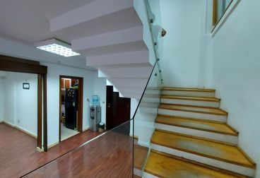 Duplex office with private entrance for rent in Maadi Degla